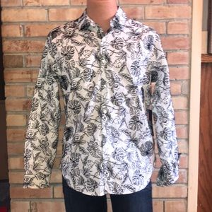 NWT PAPERDENIM&CLOTH DRESS SHIRT MENS M SLIM FIT